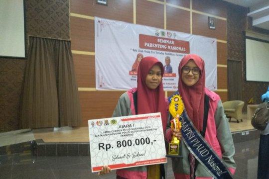 Mahasiswi IAIN Palu juara I cerpen dan favorit PIAUD se-Indonesia