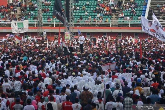 "Jokowi sapa pendukung dengan bahasa Aceh ""Peuhaba"""