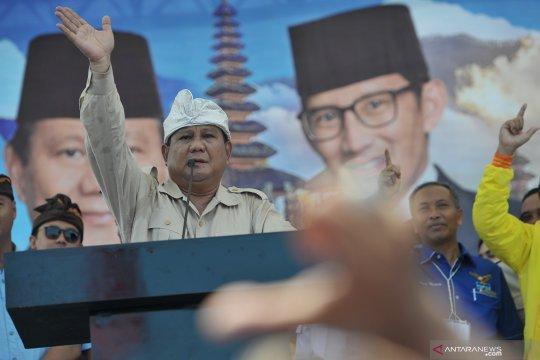 Kampanye Prabowo di Bali