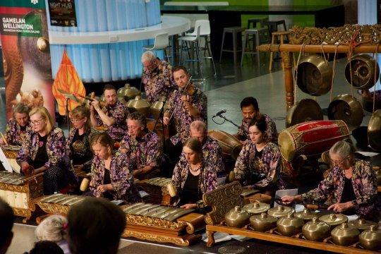 Penonton penuhi konser gamelan di Selandia Baru