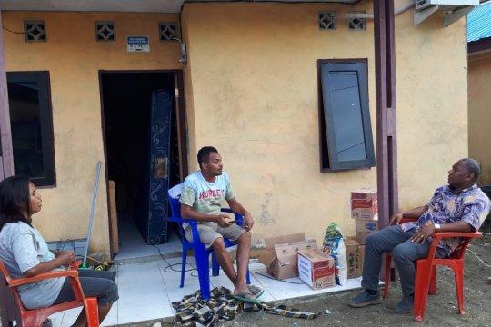 Wakil Freeport silahturahim dengan wartawan korban banjir Jayapura