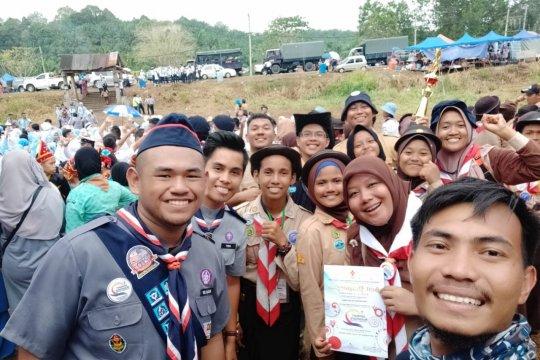 Anak TKI boyong 11 piala Jambore Pramuka Nusantara Antarbangsa