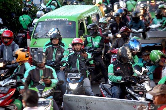 Ojol di Kabupaten Bogor mulai boleh angkut penumpang hari ini