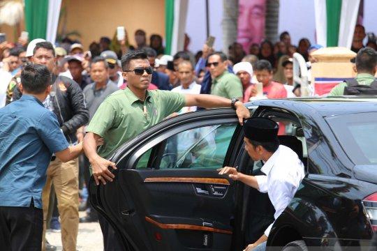 Kedatangan Jokowi disambut antusias warga Lhokseumawe