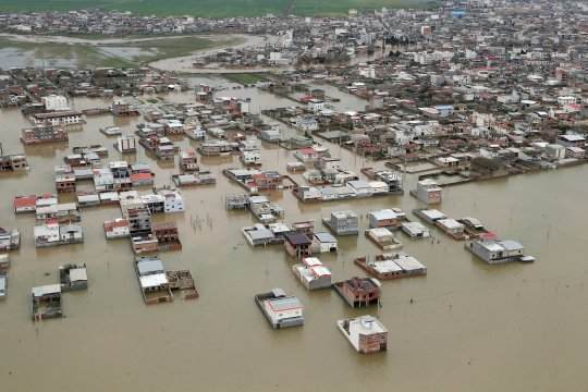 AL Iran tingkatkan pertolongan di Golestan, yang dilanda banjir