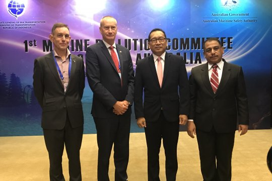 Indonesia-Australia bahas prosedur penanggulangan pencemaran di laut
