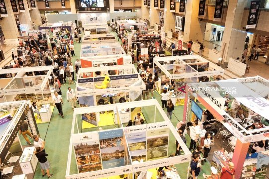 Indonesia sukses raih transaksi Rp3,8 miliar di pameran golf Singapura