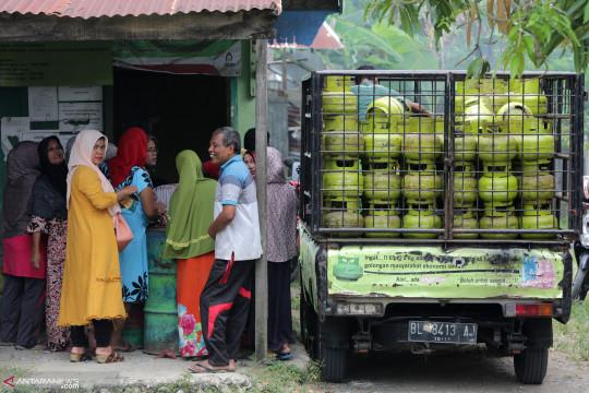 Bappenas : Gas elpiji 3 kilogram hanya untuk pemilik kartu sembako