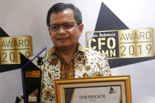 """Direktur Keuangan Jasa Marga raih penghargaan """"The Best Overall CFO"""""""