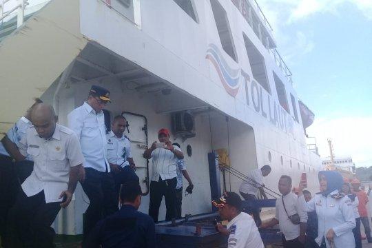 Posko Lebaran satu bulan penuh di pelabuhan Yosudarsso Tual