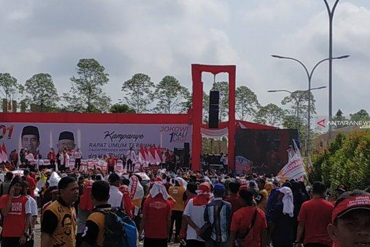 Polda Kalbar turunkan 634 personel amankan kampanye Capres 01 Jokowi