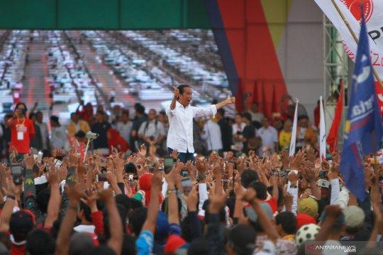 Jokowi sapa warga Banjar dengan bahasa daerah