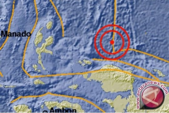 Gempa magnitudo 3,4 guncang Tambrauw, Papua Barat