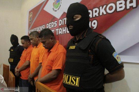 Oknum polisi-PNS Sikka ditangkap karena konsumsi sabu