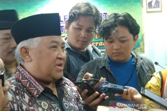 Din Syamsuddin sesalkan lambannya penegakan hukum kasus rasial Papua