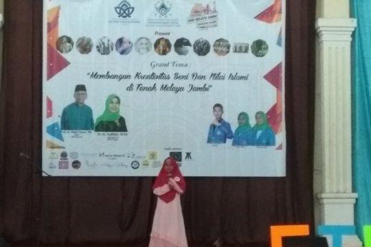 Ratusan siswa ramaikan Festival Seni Melayu UIN Jambi