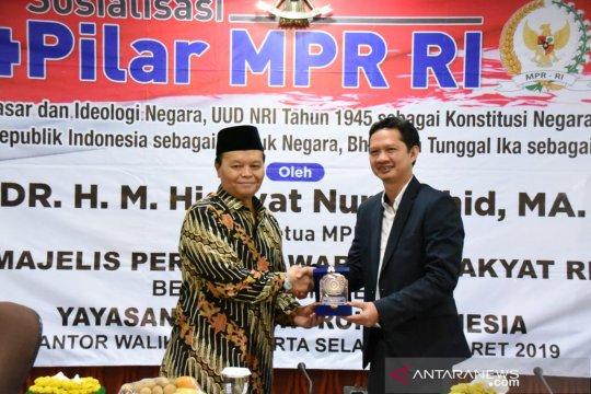 MPR ingatkan jangan hilangkan jasa ulama selamatkan Pancasila