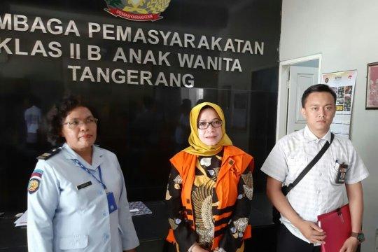 KPK eksekusi Eni Saragih ke Lapas Anak Wanita Tangerang