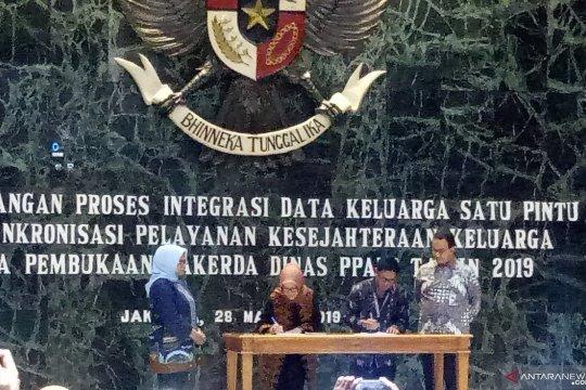 Pemprov DKI mencanangkan proses Integrasi Data Keluarga Satu Pintu