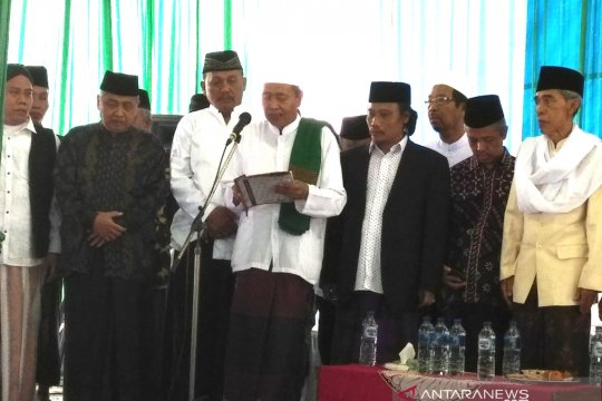 Masyarakat NU Yogyakarta deklarasikan dukungan untuk Jokowi-Ma'ruf