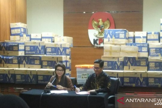KPK: 84 kardus kasus Bowo Sidik tidak terkait Pemilu Presiden