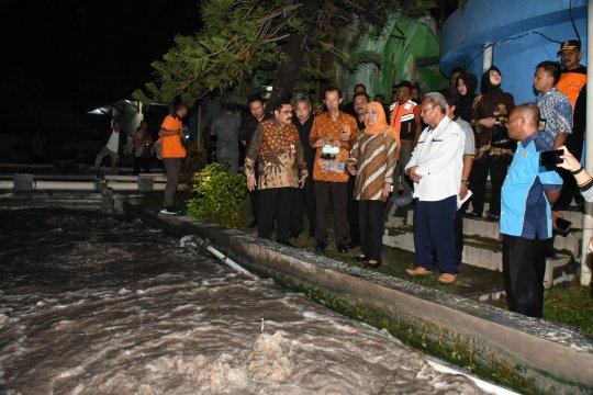 Gubernur Khofifah sidak instalasi pengolahan air limbah kulit Magetan