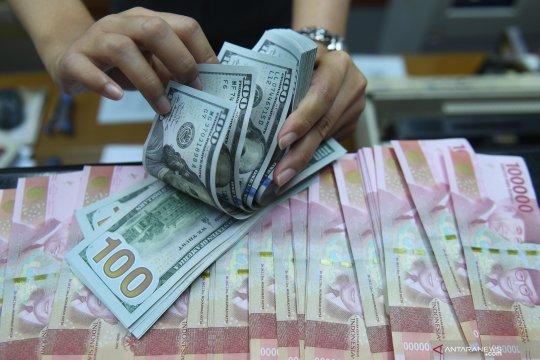 Rupiah melemah tipis seiring aksi jual SBN oleh investor asing