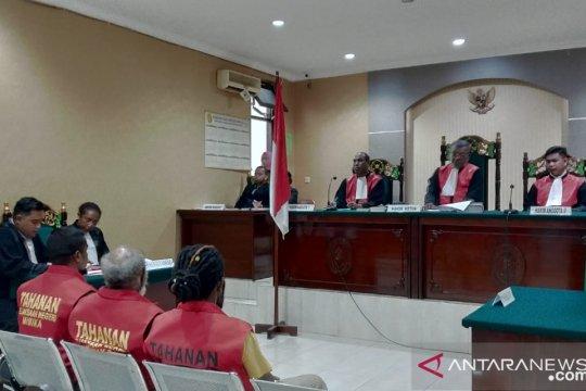 Tiga aktivis KNPB didakwa melakukan pidana makar