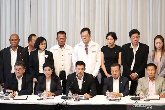Partai pro-militer di Thailand prioritaskan penobatan raja