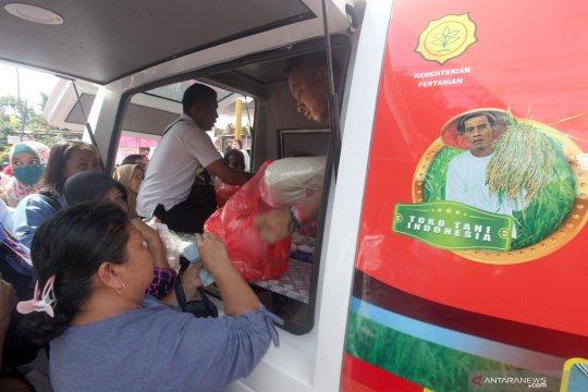 Toko Tani Indonesia gelar pasar murah di Bogor