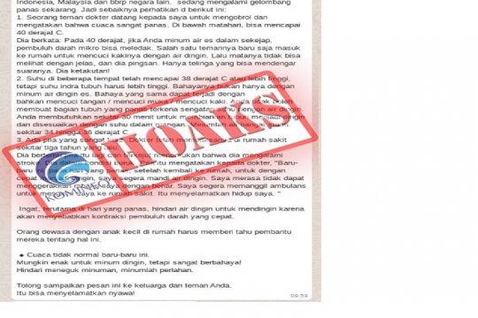 BMKG sebut Indonesia bukan dilanda gelombang panas tapi suhu panas