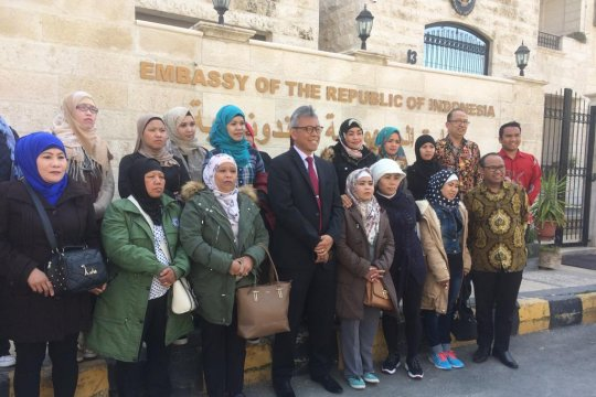 KBRI Amman pulangkan 19 pekerja migran lewat program amnesti Jordania