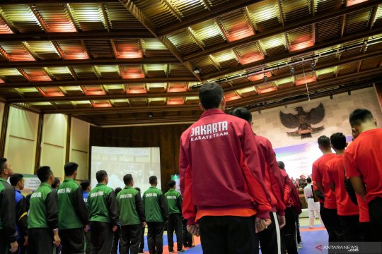 PB FORKI gelar seleknas untuk bentuk timnas karate senior