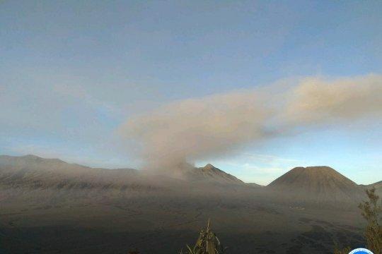 PVMBG: PPGA Bromo diguyur abu vulkanik dan tercium bau belerang