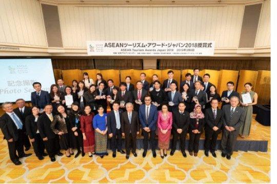 Penyedia wisata ke negara anggota ASEAN raih ASEAN Tourism Awards Japan