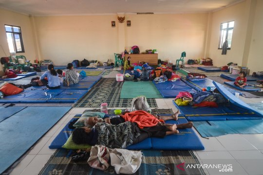 Pengungsi banjir Dayeuhkolot