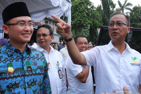 Mensos salurkan BPNT Tangerang  Rp43,413 milyar