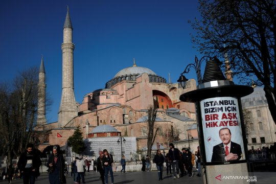 Pengadilan Turki gelar sidang alih fungsi Hagia Sophia jadi masjid