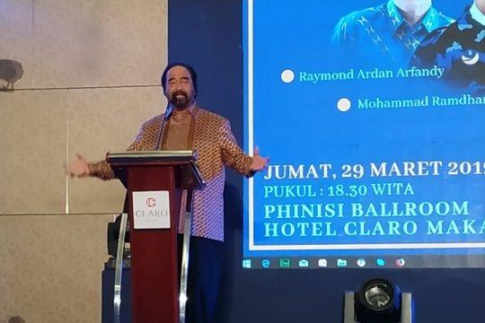 Paloh ajak tokoh masyarakat Sulsel bersatu jaga NKRI