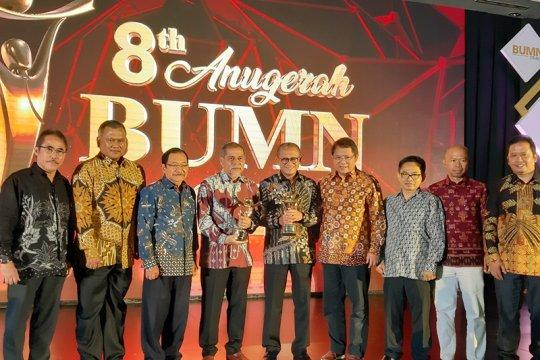 BUMN terbaik 2019 diraih Bukit Asam dan Pelindo 1
