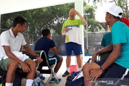 Febi Widhianto berharap Menpora baru perhatikan pembinaan tenis