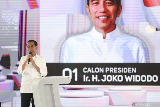 Jokowi singgung dia dituduh antek PKI