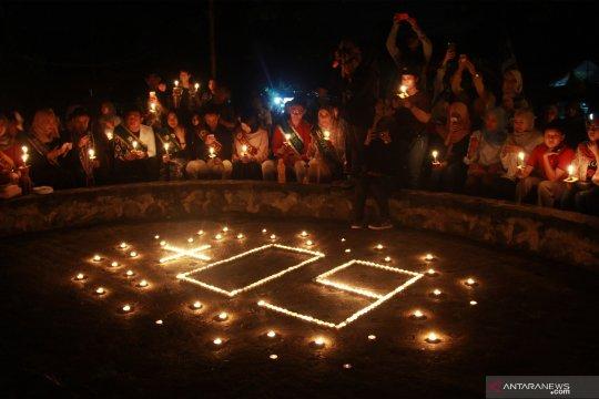 "ITB Ahmad Dahlan Tangerang Selatan padamkan lampu saat ""Earth Hour"""