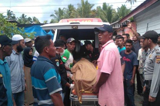 Satgas SAR temukan warga terseret di sungai Aceh Jaya