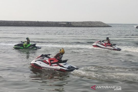 Terkendala teknis, tim jetski Indonesia optimistis raih hasil maksimal