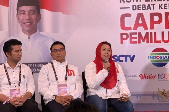 "Yenny Wahid ""GR"" disebut sebagai sahabat oleh Prabowo"
