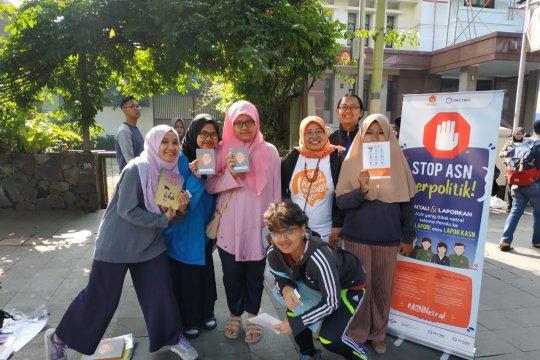 Dosen PTN dan lurah di Bandung dilaporkan langgar netralitas pemilu