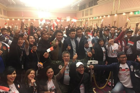 TGB hadiri deklarasi dukungan WNI di Nagoya untuk Jokowi-Ma'ruf