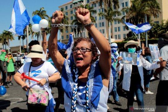 Polisi Nikaragua tangkap 13 lawan Presiden Ortega