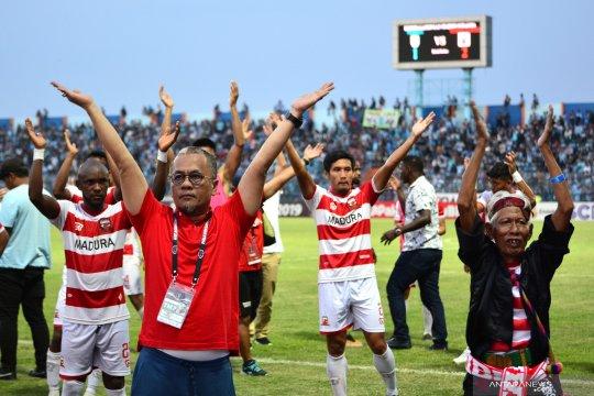 Madura United tak setuju Liga 1 Indonesia 2020 dilanjutkan